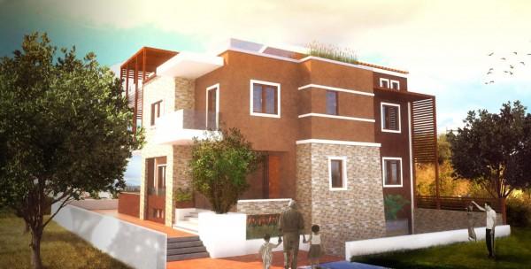 Ανασχεδιασμός όψεων σε κατοικία στο Γαλατά.